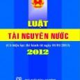 QUỐC HỘI ______ Luật số: 17/2012/QH13 CỘNG HÒA XÃ HỘI CHỦ NGHĨA VIỆT NAM Độc lập – Tự do – Hạnh phúc _________________________ LUẬTTÀI NGUYÊN NƯỚC (>>>Download) Căn cứ Hiến […]