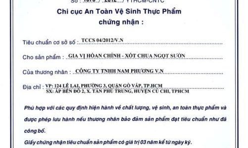 Luật Tiêu chuẩn và quy chuẩn kỹ thuật 2006(HDCT:127/2007/NĐ-CP) Hệ thống tiêu chuẩn quốc gia Việt Nam>Tra cứu TCVN(Danhmục) 01/2016/TT-BXD:Ban hành Quy chuẩn kỹ thuật quốc gia về các công […]