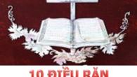Trong đạo Thiên Chúa (còn gọi là đạo Công giáo) có rất nhiều Kinh (hình thức ngôn từ được người theo tín ngưỡng đọc hoặc suy ngẫm tựa như lời […]