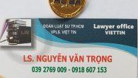 > Để được hỗ trợ ngay, quý vị có thể điện thoại: 0918 607 153 hoặc add Zalo 039 2769 009. Luật sư sẽ tư vấn tận tình. NHẬT KÝ […]